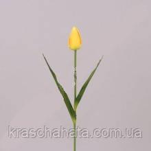 Цветок искусственный, Тюльпан, H56 см, Искусственные цветы, Днепр
