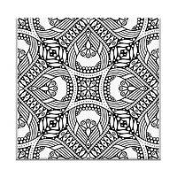 Картина по номерам Орнамент 20 х 20 см (AR08)