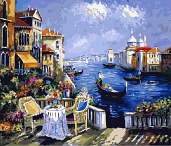Картина по номерам Венецианский вечер 40 х 50 см (BK-GX3626)