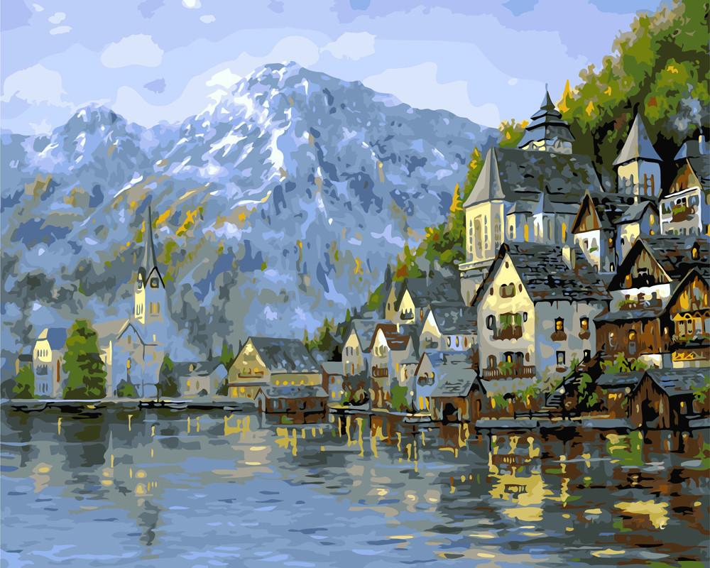 Картина по номерам Прекрасная Австрия 40 х 50 см (BK-GX7047)
