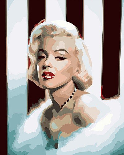 Картина по номерам Мэрилин Монро 40 х 50 см (BK-GX7896)