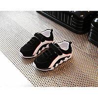 Кроссовки детские PU-замша черные Размер: 29