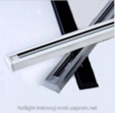 Трек для прожектора черный 1,5м ЭКОНОМ, фото 2
