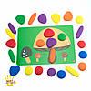 Радужная галька для малышей с карточками EDX education (13209), фото 3