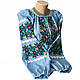 """Женская вышитая рубашка """"Ройзет"""" BI-0039, фото 2"""