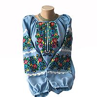 """Жіноча вишита сорочка (блузка) """"Ройзет"""" (Женская вышитая рубашка (блузка) """"Ройзет"""") BI-0039"""
