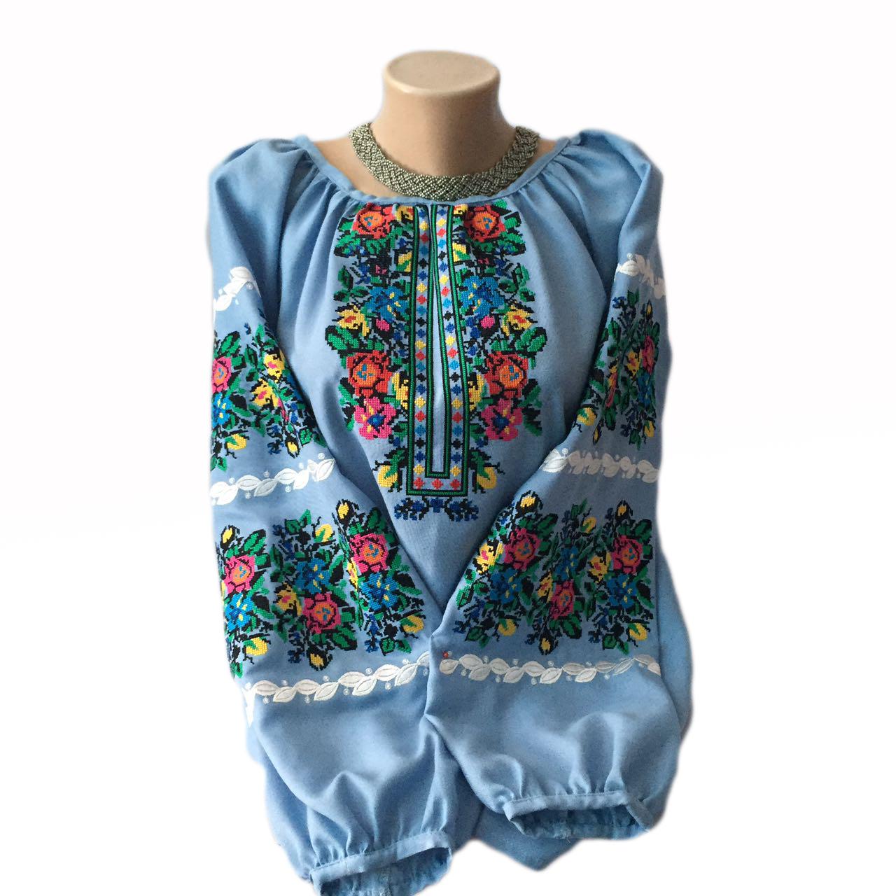 """Женская вышитая рубашка """"Ройзет"""" BI-0039"""
