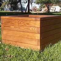 Вазон деревянный
