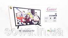 "✔️ Телевизор Comer - диагональ 40"" + Smart ТВ + Т2 . Гарантия 12 мес, фото 3"