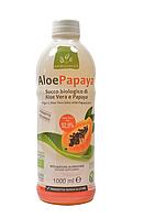 Cок  Алоэ Вера  и папайя Aloe Papaya органический Benessence,1л.