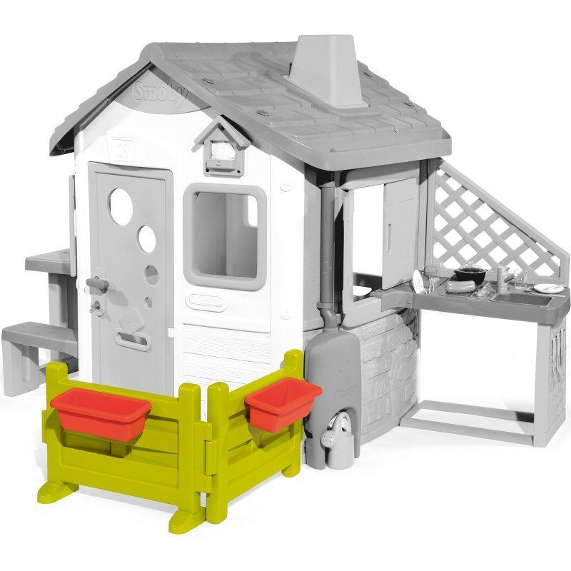 Заборчик для домика Smoby Neo Jura 810904