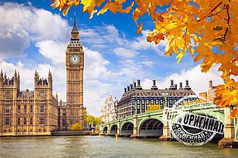 Картина по номерам Осенний Лондон 40 х 50 см (KH2134)