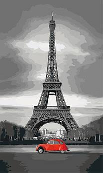 Картина по номерам Париж из прошлого 30 х 50 см (KH2147)