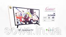 """✔️ Телевизор Comer    Диагональ 40""""   Smart ТВ + Т2   LED HD, Ultra HD, фото 3"""
