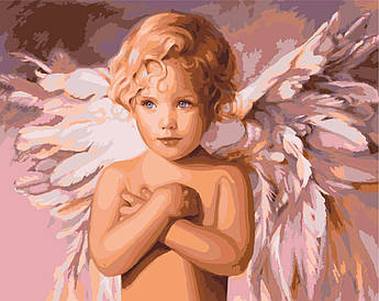 Картина по номерам Голубоглазый ангел 40 х 50 см (KH2315)