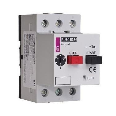 автоматы защиты двигателя ETI фото