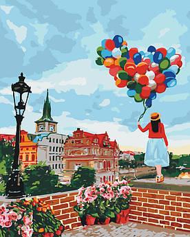 Картина по номерам Прогулка по Праге 40 х 50 см (KH3518)