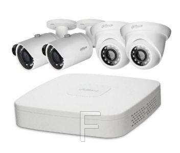 Комплект видеонаблюдения Dahua KIT-IP42-2B / 2D