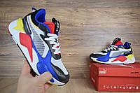 Женские кроссовки в стиле Puma RS-X  ,разноцветные, фото 1