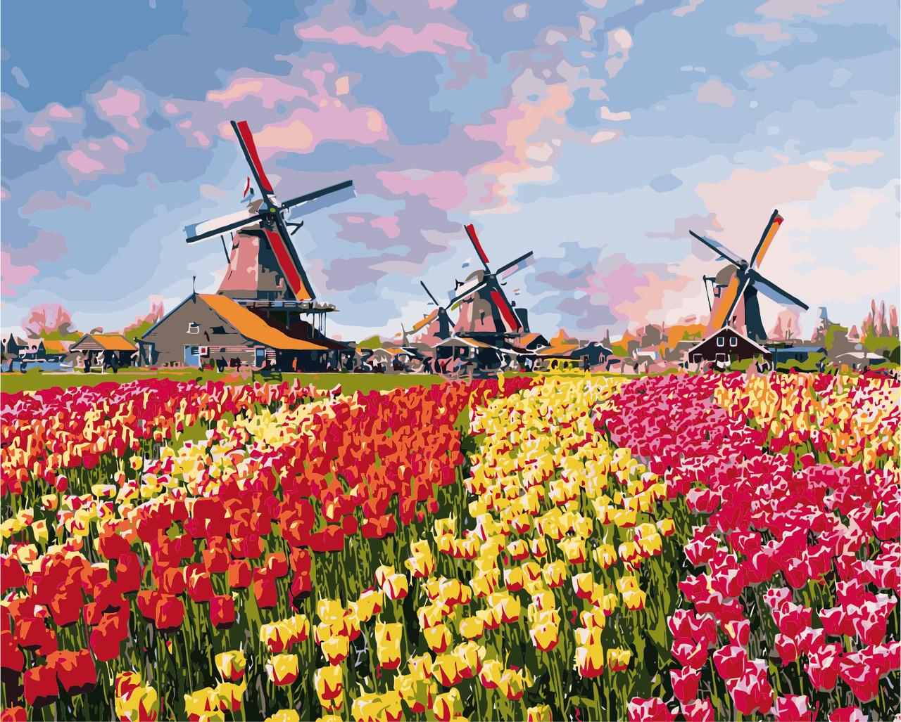 Картина по номерам Краски Голландии 40 х 50 см (KHO2224)