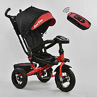 Детский трехколесный велосипед Best trike 608!+пульт красный, фото 1