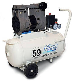 Безмасляный компрессор FIAC SUPERSILENT 24 (ресивер 24 л, пр-сть 160 л/мин)