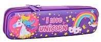 Пенал металлический Yes 1 отд. Unicorn 531877