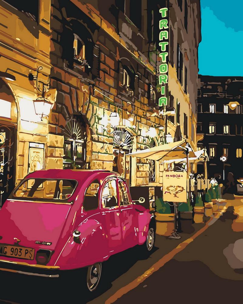 Картина по номерам Вечерние огни 40 х 50 см (KHO3520)