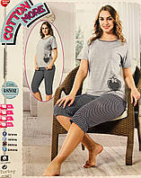 Женская пижама хлопок COTTONE MORE Турция размер M(46) 48502