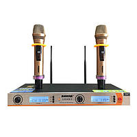 Микрофон DM UG-X9 II Shure, радиосистема с микрофонами, радиомикрофоны с базой