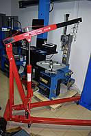 Кран гидравлический складной 1000 кг для снятия двигателя