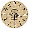 Годинник дерев'яний, 36х36, Класична кухня