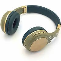 Беспроводные наушники с микрофоном Bluetooth гарнитура с MP3 и FM FOKS SY-BT1607
