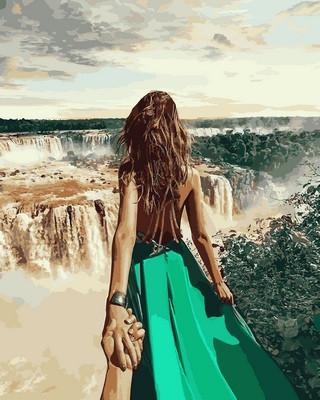 Картина по номерам Следуй за мной. Бразилия 40 х 50 см (NB711)