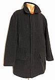 Пальто- куртка на молнии шерстяное SAND (56,58), фото 8