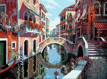 Картина по номерам Полдень в Венеции 40 х 50 см (VP264)