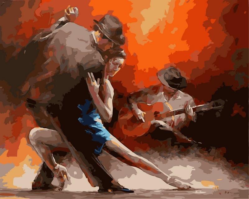 Картина за номерами Пристрасне танго 40 х 50 см (VP318)