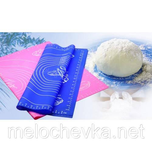 Силиконовый коврик45*65см для раскатки тесто и выпечки