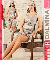 Женская пижама хлопок DALMINA Турция размер M(46) 33100