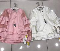 7da1ec2aa6d Детская нарядная блузка для девочки .Италия