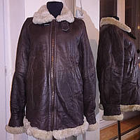 Дубленка (куртка пилот) женская,.р. М/48