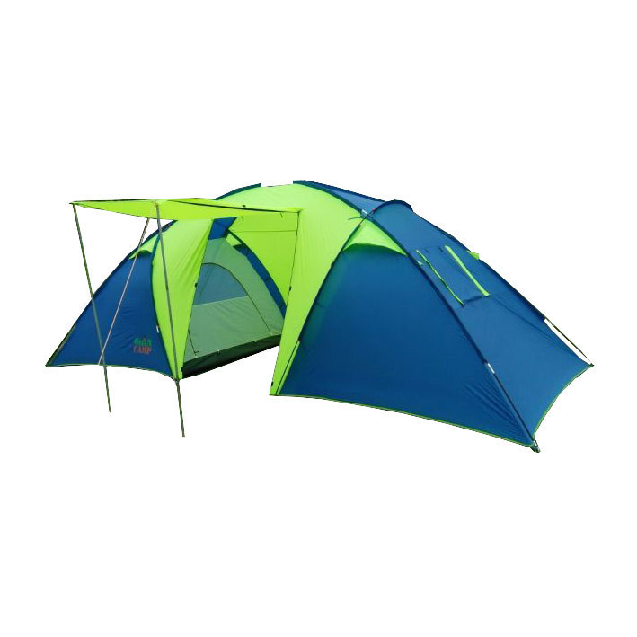 Шестимісна двокімнатна намет Green Camp 1002