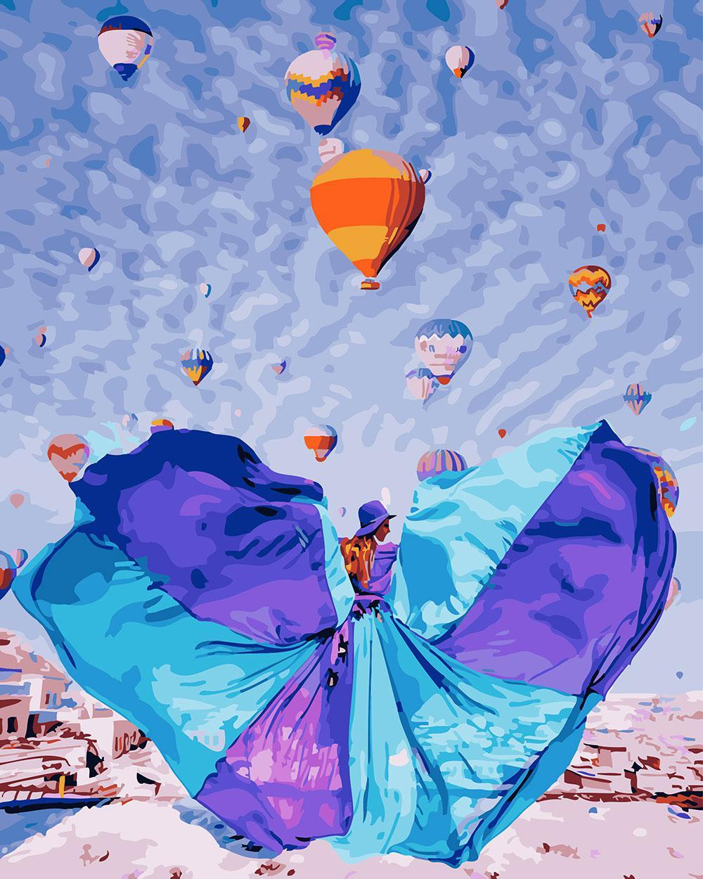 Картина по номерам Летние мечты 40 х 50 см (BRM24906)