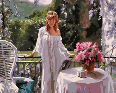 Картина по номерам Женское очарование 40 х 50 см (BRM3849)