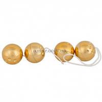 Анальные шарики Gold 4er  , фото 1