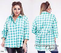 Рубашка клиентка франц трикотаж 46-48,50-52,54-56,58-60, фото 1