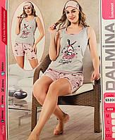 Женская пижама хлопок DALMINA Турция размер L(48) 33104