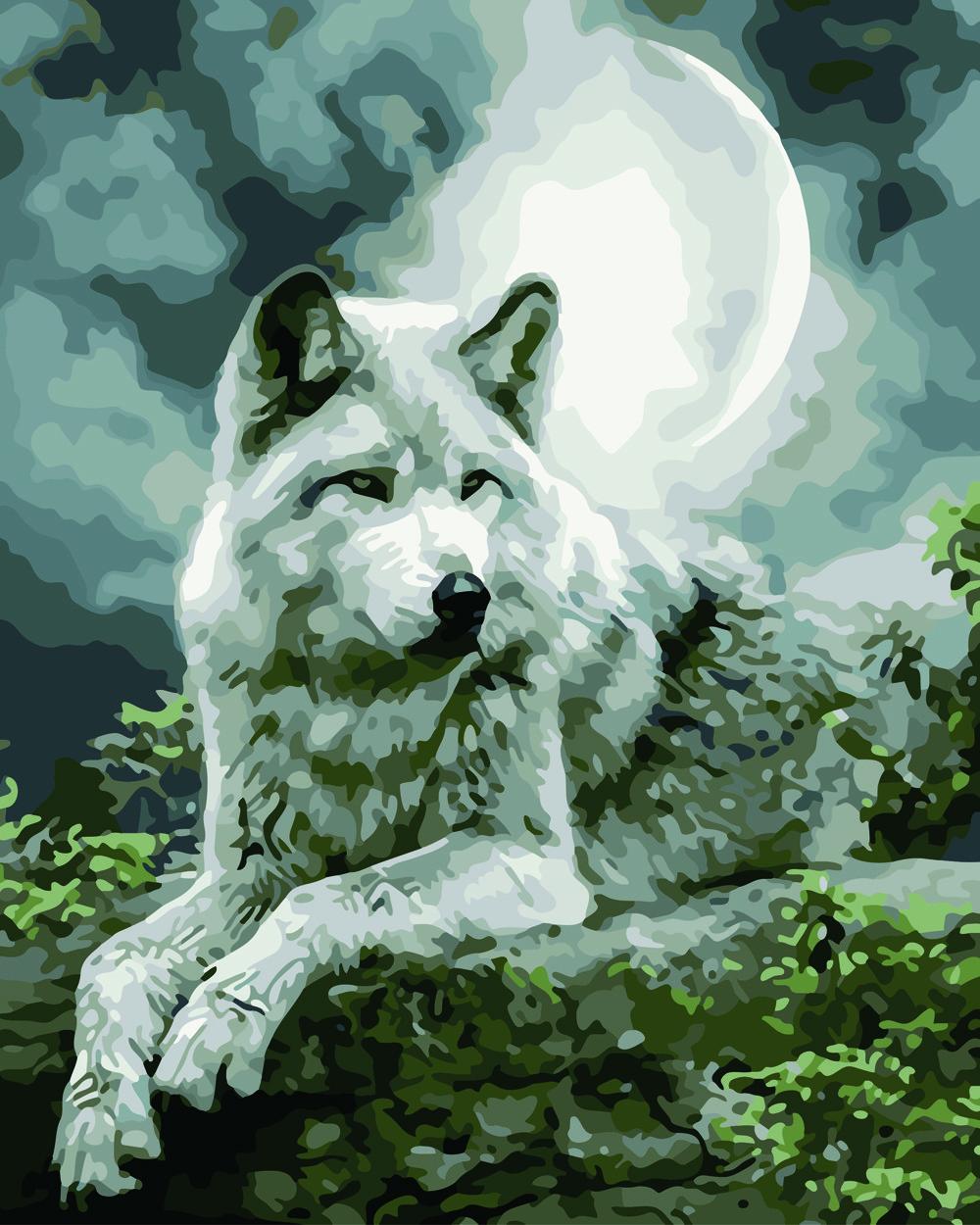 Картина по номерам Серый призрак 40 х 50 см (BK-GX21058)