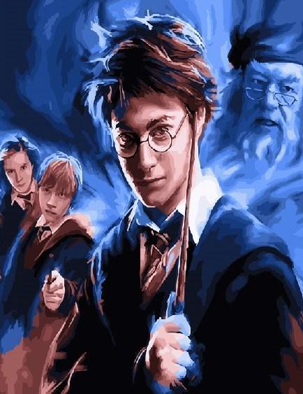 Картина по номерам Гарри Поттер 40 х 50 см (BK-GX21251)