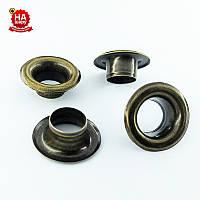 Люверсы для шнурков 8мм (№5), Антик, Турция (100шт)